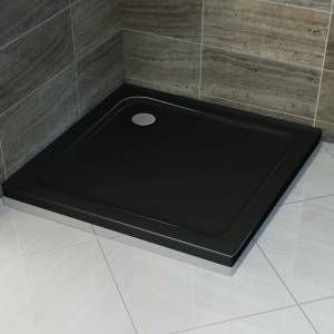 BLACK SQUARE 1000x1000 MM SHOWER BASE **Free Delivery**